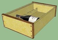 custom wine case design